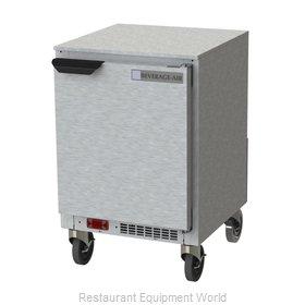Beverage Air UCR20HC Refrigerator, Undercounter, Reach-In