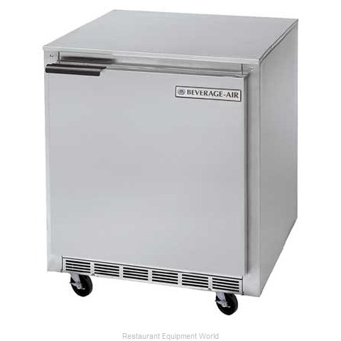 Beverage Air UCR27Y-16 Refrigerator Undercounter Reach-In