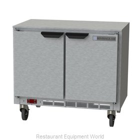 Beverage Air UCR34HC Refrigerator, Undercounter, Reach-In