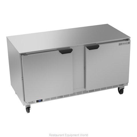 Beverage Air UCR60AHC Refrigerator, Undercounter, Reach-In