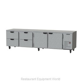 Beverage Air UCRD119AHC-4 Refrigerator, Undercounter, Reach-In