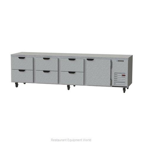Beverage Air UCRD119AHC-6 Refrigerator, Undercounter, Reach-In