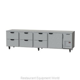 Beverage Air UCRD119AHC-6 Refrigerator, Undercounter, Reach-In