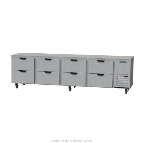 Beverage Air UCRD119AHC-8 Refrigerator, Undercounter, Reach-In
