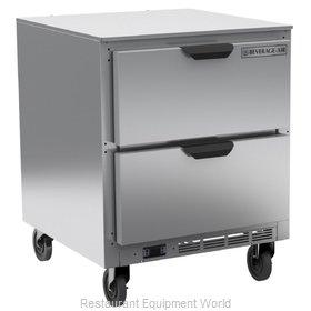 Beverage Air UCRD27AHC-2 Refrigerator, Undercounter, Reach-In
