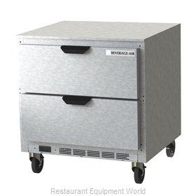 Beverage Air UCRD32AHC-2 Refrigerator, Undercounter, Reach-In