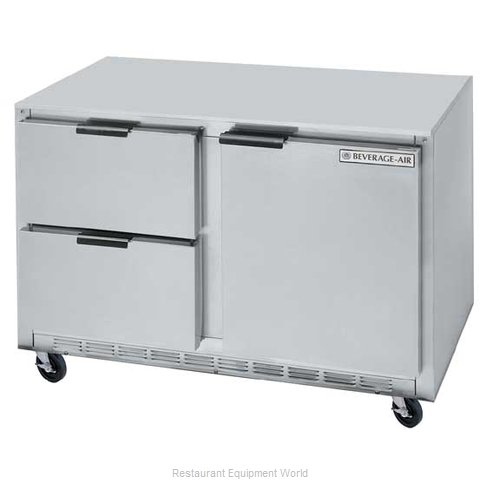 Beverage Air UCRD48A-2 Refrigerator Undercounter Reach-In