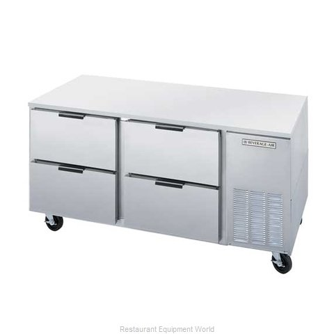 Beverage Air UCRD67A-4 Refrigerator, Undercounter, Reach-In