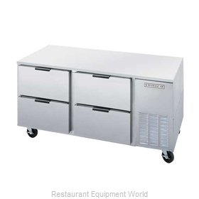 Beverage Air UCRD67A-4 Refrigerator Undercounter Reach-In