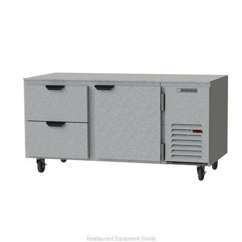 Beverage Air UCRD67AHC-2 Refrigerator, Undercounter, Reach-In