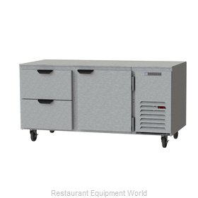 Beverage Air UCRD67AHC-2 Refrigerator, Undercounter, Reach-In