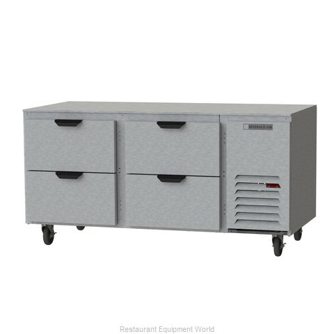 Beverage Air UCRD67AHC-4 Refrigerator, Undercounter, Reach-In