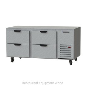 Beverage Air UCRD67AHC-4 Refrigerator, Undercounter, Reach-In