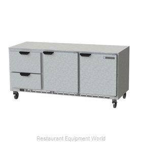 Beverage Air UCRD72AHC-2 Refrigerator, Undercounter, Reach-In