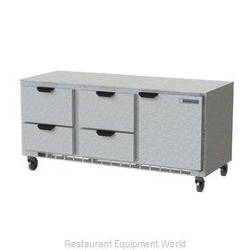 Beverage Air UCRD72AHC-4 Refrigerator, Undercounter, Reach-In