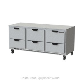 Beverage Air UCRD72AHC-6 Refrigerator, Undercounter, Reach-In