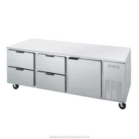 Beverage Air UCRD93A-4 Refrigerator, Undercounter, Reach-In