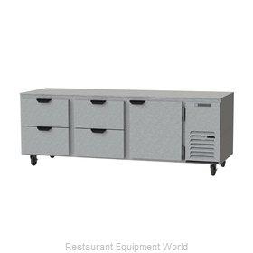 Beverage Air UCRD93AHC-4 Refrigerator, Undercounter, Reach-In