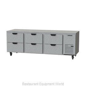 Beverage Air UCRD93AHC-6 Refrigerator, Undercounter, Reach-In