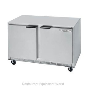 Beverage Air UCRF48A-1-SA-A Refrigerator Freezer, Undercounter, Reach-In