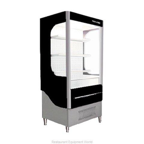 Beverage Air VM12-1-B-LED Merchandiser, Open