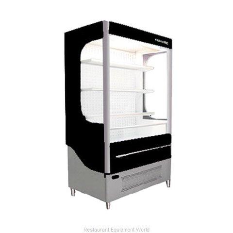 Beverage Air VM18-1-B-LED Merchandiser, Open