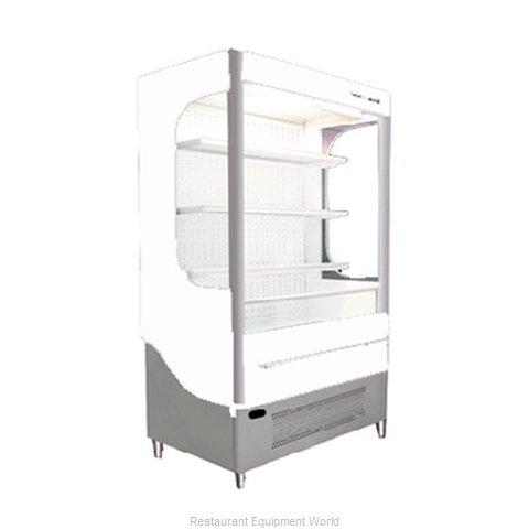 Beverage Air VM18-1-W-LED Merchandiser, Open