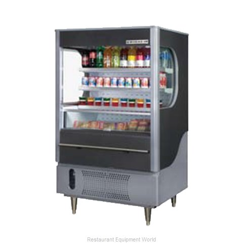 Beverage Air VM7-1-B Merchandiser Open