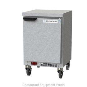 Beverage Air WTF20HC-FLT Freezer Counter, Work Top