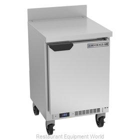 Beverage Air WTF20HC Freezer Counter, Work Top