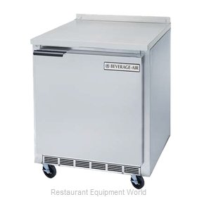 Beverage Air WTF24A Freezer Counter, Work Top