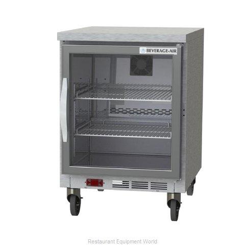 Beverage Air WTF24AHC-25-FLT Freezer Counter, Work Top