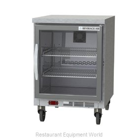 Beverage Air WTF24AHC-25-FLT Freezer Counter, Work Top
