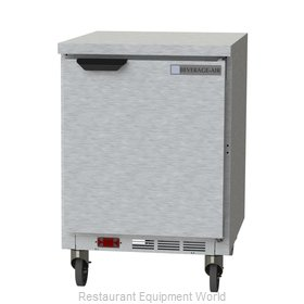 Beverage Air WTF24AHC-FLT Freezer Counter, Work Top
