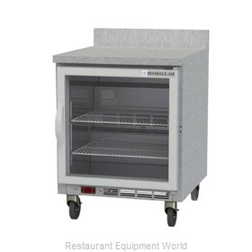 Beverage Air WTF27AHC-25-FIP Freezer Counter, Work Top