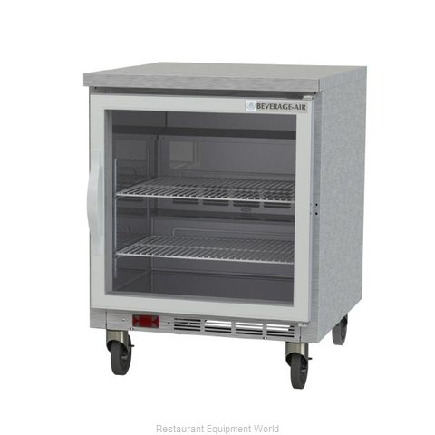 Beverage Air WTF27AHC-25-FLT Freezer Counter, Work Top
