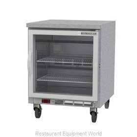 Beverage Air WTF27AHC-25-FLT Freezer Counter, Work Top