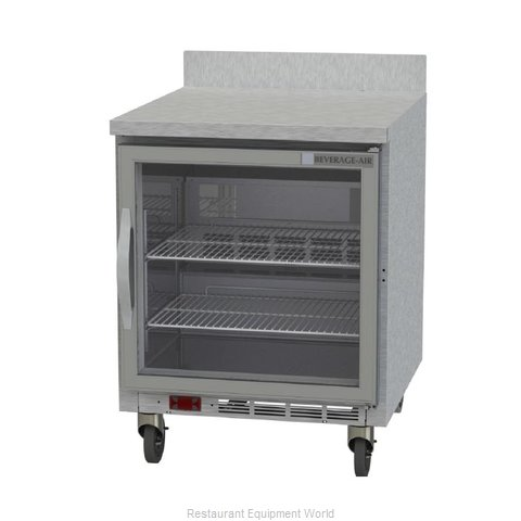 Beverage Air WTF27AHC-25 Freezer Counter, Work Top