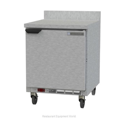 Beverage Air WTF27AHC-FIP Freezer Counter, Work Top
