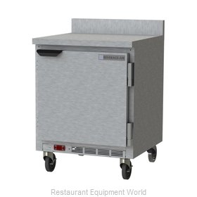 Beverage Air WTF27HC-FIP Freezer Counter, Work Top