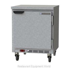 Beverage Air WTF27HC-FLT Freezer Counter, Work Top