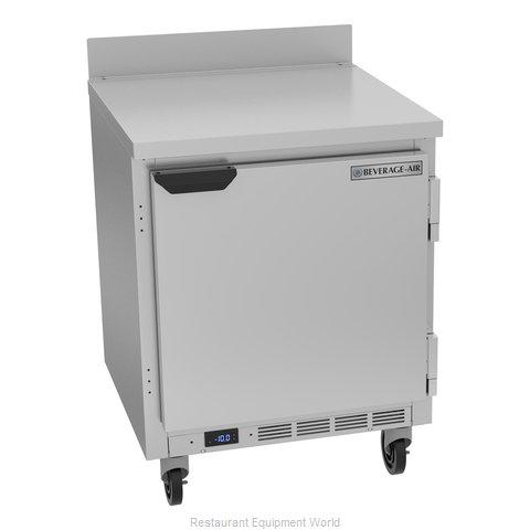 Beverage Air WTF27HC Freezer Counter, Work Top