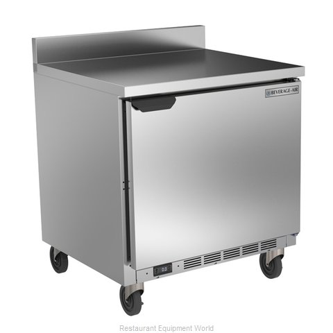 Beverage Air WTF32AHC Freezer Counter, Work Top