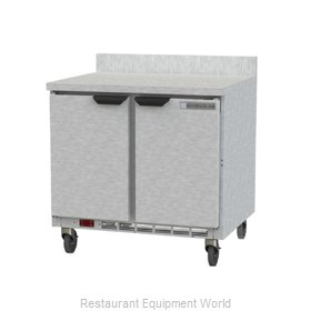 Beverage Air WTF36AHC-FIP Freezer Counter, Work Top