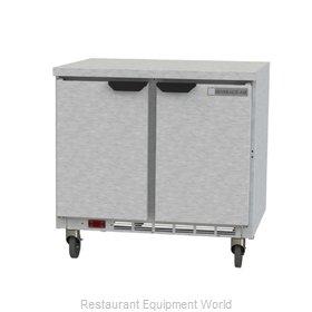 Beverage Air WTF36AHC-FLT Freezer Counter, Work Top