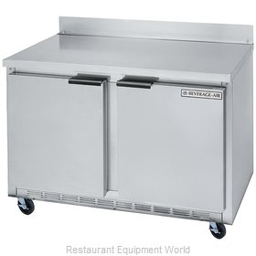 Beverage Air WTF48AY Freezer Counter, Work Top