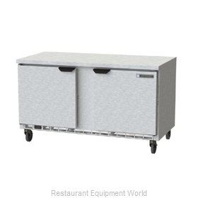 Beverage Air WTF60AHC-FLT Freezer Counter, Work Top