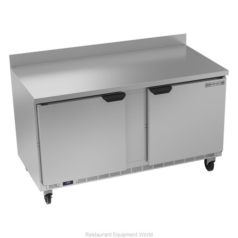 Beverage Air WTF60AHC Freezer Counter, Work Top