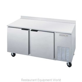 Beverage Air WTF67A Freezer Counter, Work Top