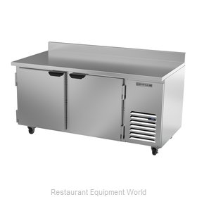 Beverage Air WTF67AHC Freezer Counter, Work Top